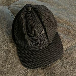Adidas Black Woven Cap